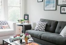 Styling a grey couch  ideas