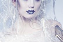 Winter - Makeup / Inspiration for makeup for a shoot.