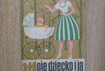 vintage polish covers - mix