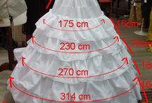 Molde falta levantar vestido novia