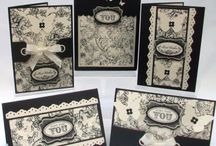 cards with lace