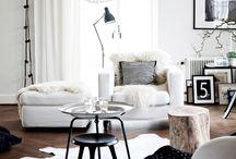 Interior design ispiration / ♥ Interior design inspiration and ideas for the home ♥ white ♥ Scandinavian design ♥ light ♥