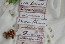 Sprüche / Schilder