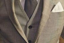 vestido como caballero