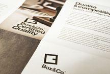 BOX&CO / CATALOGO DESIGN LOGO ADVERTISING