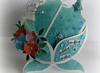 # 24 Get well basket card / Template # 24 Get well basket card available at www.sandrasscrapshop.blogspot.com