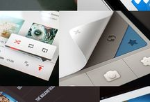 mobile / Inspirations to design touch interfaces