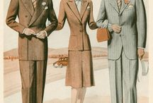 Prohibition Era Fashion / Costuming Reference images for the St. Valentine's Massacre Party