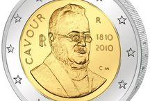 Monedas 2 euros Italia