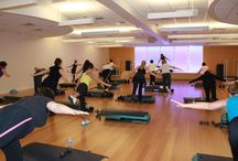 Group Classes / We offer more than 90 classes a week - including Zumba, cycling, yoga and many more!