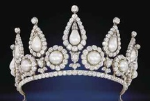 Tiaras, Crowns, Jewelry and Gems / Historical and antique jewelry, crowns, tiaras and others. / by Eileen Daub