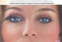 Vintage makeup adds