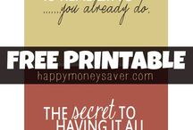 Printables / by Colie Marie