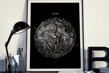 Maps & Scheme Art Print