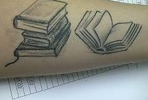 Tattoos: Books / I'm an avid reader so these are some inspiration for some book tattoos.  / by Amy Metzler