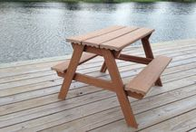 Toddler picnic table for Jack