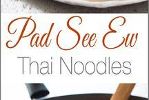 Pad See Ew Thai Noodle dish