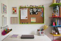 Infantil:Mesa estudo|Penteadeira | Escrivaninha