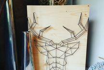 LOUVE créatrice de String Art / Créatrice de String Art  tableau personnalisés