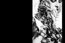 By WooJung Park featuring Brigade Mondaine / Photographer :WooJung Park  Model : Sophie Bergeret  MUA/HAIR:: David Barral  Stylism:Nathaly Maisons pour la Brigade Mondaine®