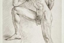 male drawings / drawings of male figure