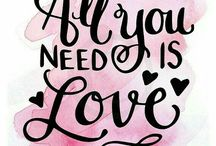 ⭐️ All you need is Love ❤ ⭐️