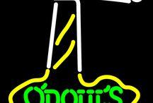Odouls Neon Beer Signs