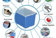 Preparedness: emergencies / Kits, supplies, tips, information