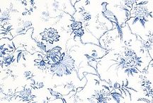 Beautiful fabrics and wallpapers