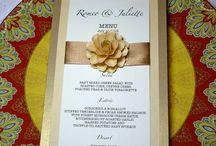 Tarjetas menu