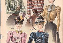 Fashion Plates and Portraits: 1890-1899