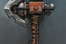 Cartoon weapons