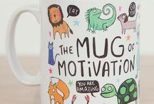 Thiết kế cốc (Mugs designs) / Những ý tưởng thiết kế cốc Printub chọn lọc từ các nguồn trên internet