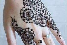 Modèles de henné
