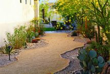 Garden and Landscape / Landscaping ideas for the garden, including outdoor living spaces, zen meditation areas, pathway remodels, and decor.  / by Lindy King