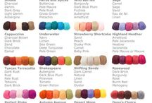 Colour combination wool