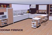 The Sims 4 Kitchen / Hier worden allemaal Kitchen van The Sims 4 in gedaan
