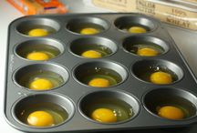 eggs in muffin trays
