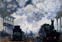 Painting impressions: Un peu de Claude Monet