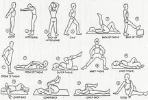 Exercises-STRETCHES / by Carrie Weathers-Dixon
