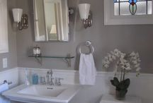 Bath / Guest and master, too many ideas for just 2 rooms! / by Michelle Noble {savingElevenTwenty.com}
