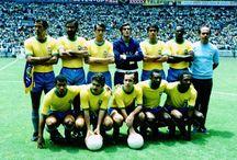 Copas e jogadores da seleção Brasileira ⚽