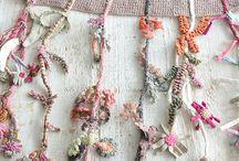 Crochet laine tout doux ..pastels.... / Création inspiré et de Sophie Digard