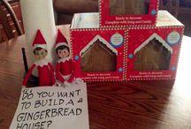 Elf on the shelf for Giada