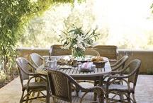 Garden ~ Eating Spaces