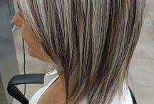 koloryzacja włosów. fryzury