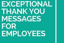 staff thank you message