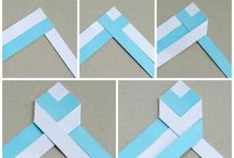 оригами закладки
