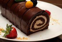 postres / postres de chocolate delicioso