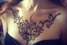 Göğüs /boyun dövmeleri